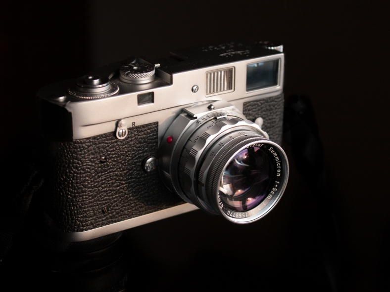 Simple an amazing miniature camera or as you would call it today a 35mm camera mounting probably the best 50mm lens ever made.