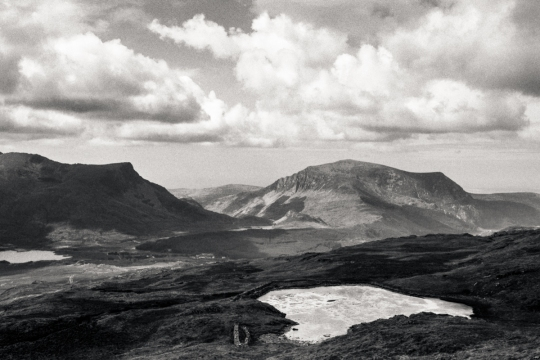 Snowdonia National Park. Contax G1, 45mm Carl Zeiss Planar. Kodak Tmax 100 in Kodak HC-110.