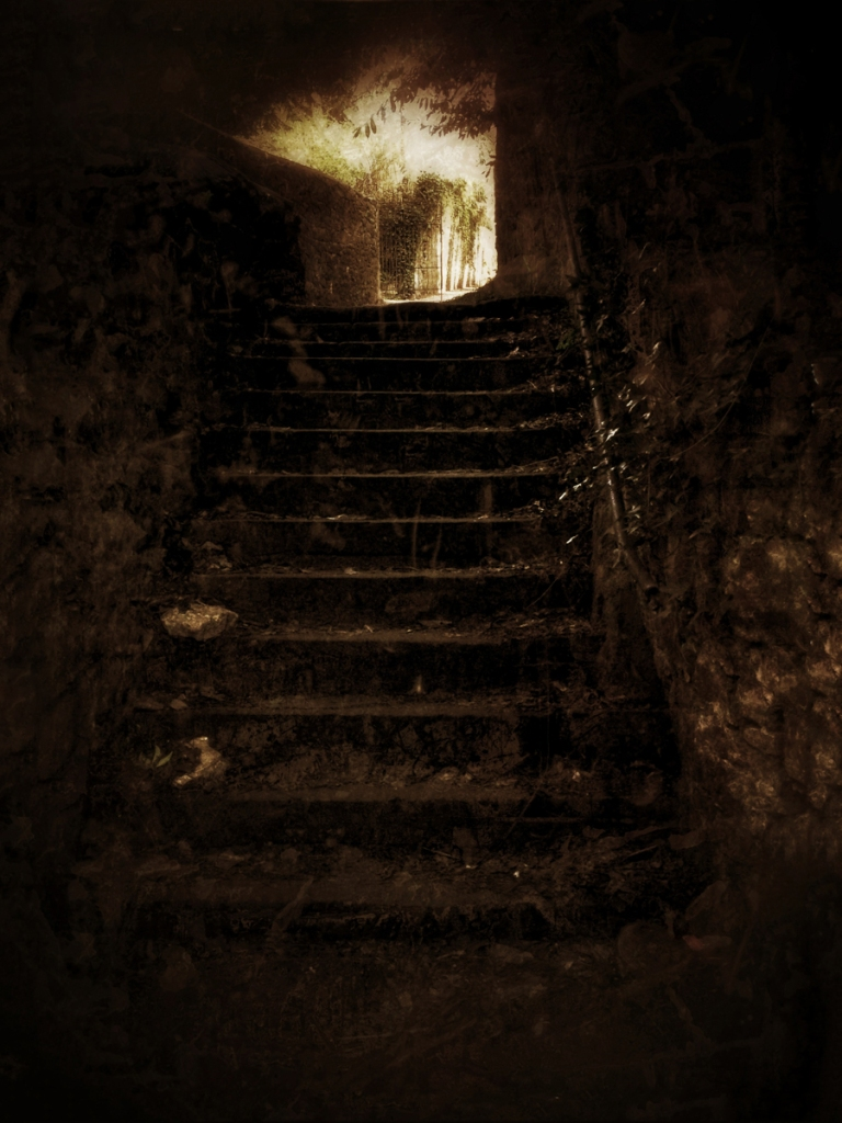 Stairs near Chepstow.