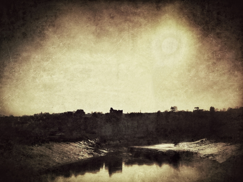 Chepstow Castle.
