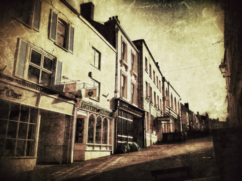 St. Mary's street, Chepstow.