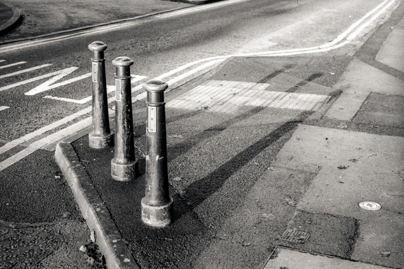 Bollards, Chepstow.