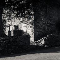 A ruin on the road between Devauden and Trelleck.