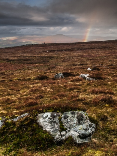 A partial Rainbow on the Blorenge.
